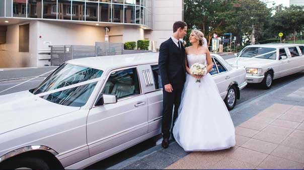 Mercedes Wedding Limos