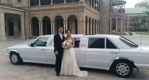 Mercedes Benz Wedding Cars Brisbane